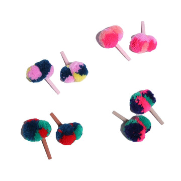 Tjimba Pompom Bobbi Pins (Set of 8)