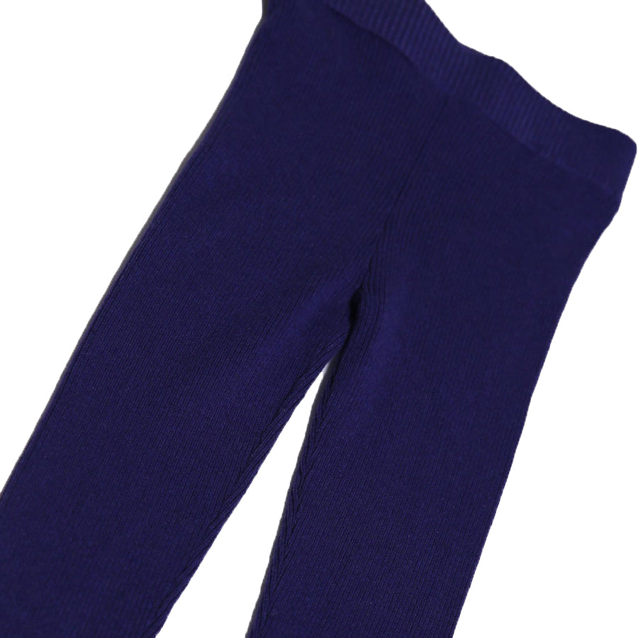 Slim Fit Ribbed Legging