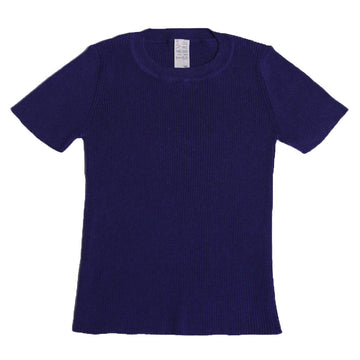 Short Sleeve Ribbed Crewneck