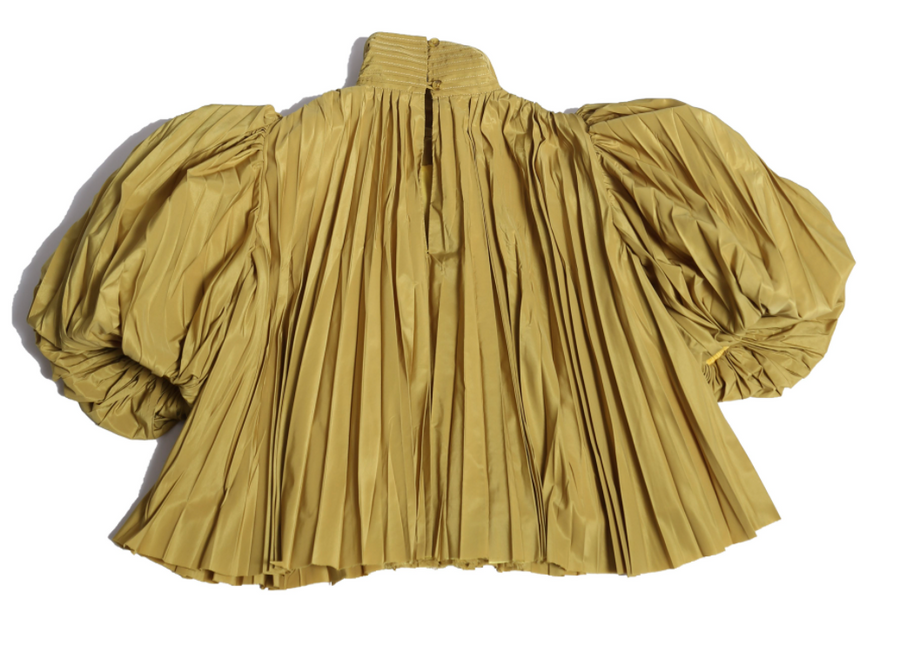 Genoveva Pleated Blouse