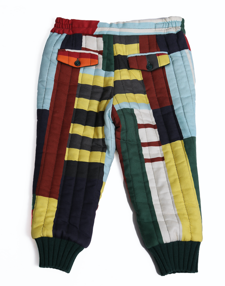 Tufted City Track Pants