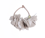 Stacked Feathered Muslin Necklace