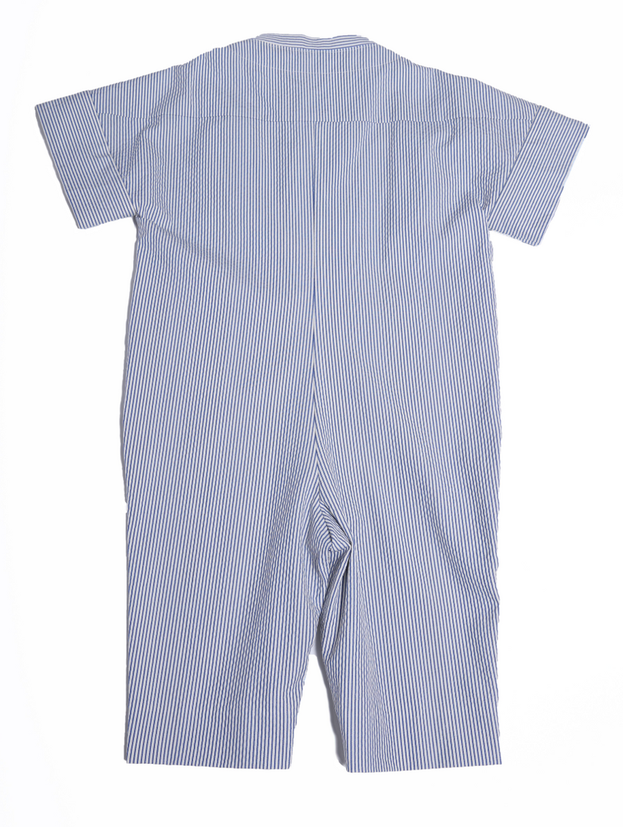 Double Breasted Jodhpur Romper
