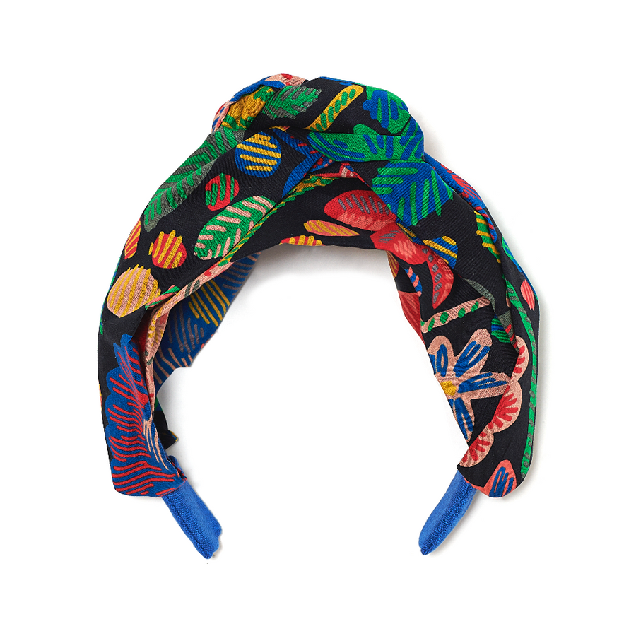 Maisonette Exclusive Floral Turban Headband