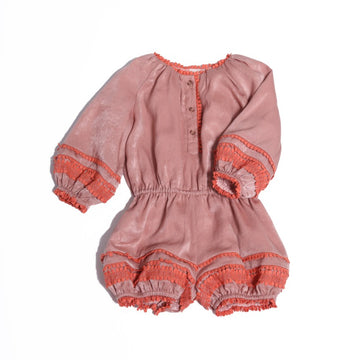 Embroidered Pantaloon Onesie