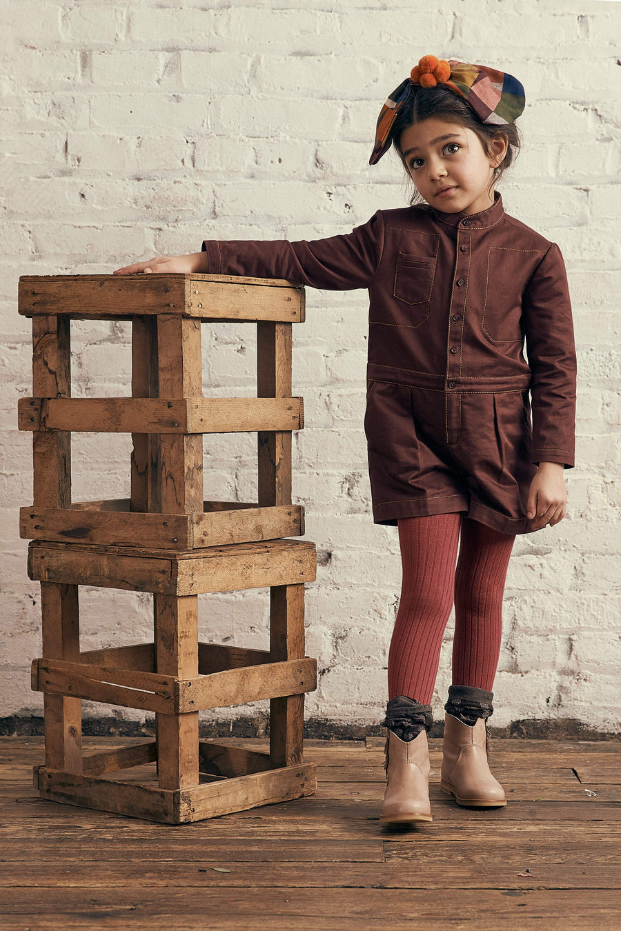 Barn Raising Romper