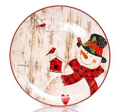 Frosty's Magical set of 4 Dessert Plates 9.5""