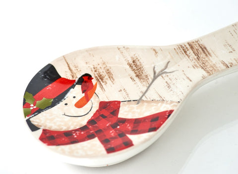 Frosty's Magical Spoon Rest 9.5""