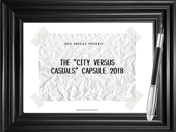 "The ""City versus Casuals"" Capsule 2018 Lookbook PDF"