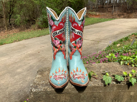 Size 6.5 women's Liberty boots