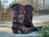 Size 11 women's Lucchese boots