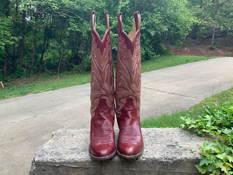 Size 7 women's Panhandle Slim boots