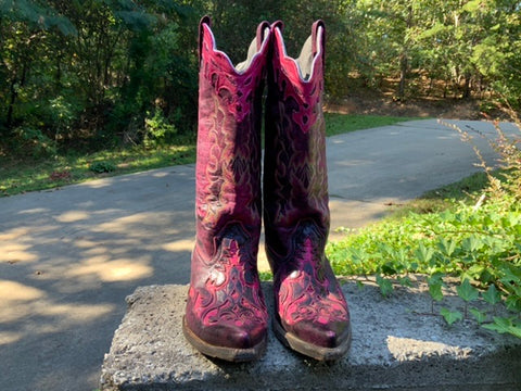 Size 9 women's Innovation handmade boots