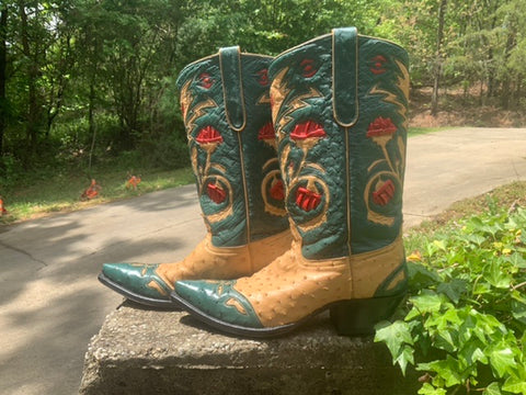 Size 9 women's Liberty boots for Jurassic Ranch