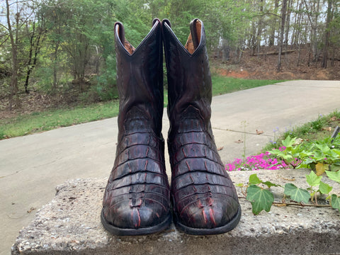 Size 7.5 women's Lucchese boots