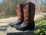 Size 8 men's or 10 women's Montana boots