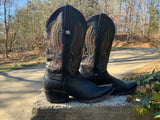 Size 8 men's or 9.5 women's Montana boots