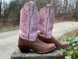 Size 9.5 women's Justin boots
