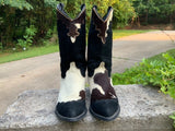 Size 7.5 women's cowhair boots