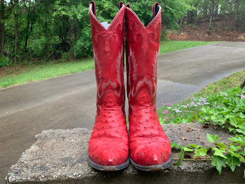 Size 10 women's Larry Mahan boots