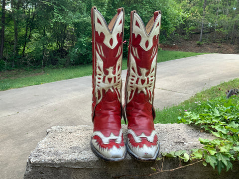 Size 9.5 men's or size 11 women's handmade boots