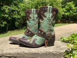 Size 7.5 women's Double D Ranch boots