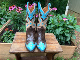 Size 7 women's Lucchese boots