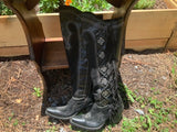 Size 5 women's Double D Ranch boots