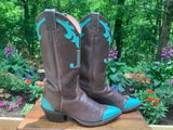 Size 8 women's Justin boots