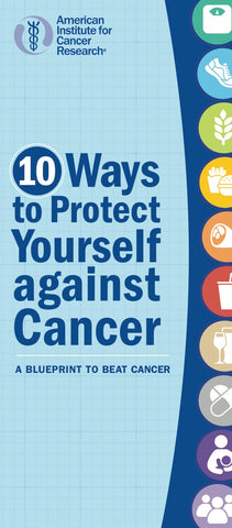 10 Ways to Protect Yourself Against Cancer (Pack of 25)