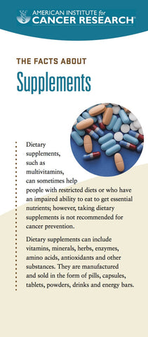 The Facts About Supplements