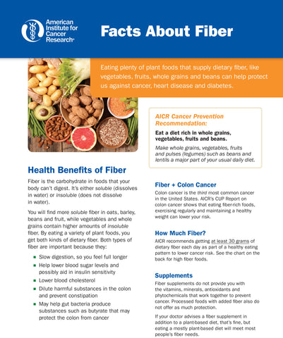 INSTANT DOWNLOAD: Facts About Fiber