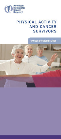 Physical Activity and Cancer Survivors (Pack of 25)