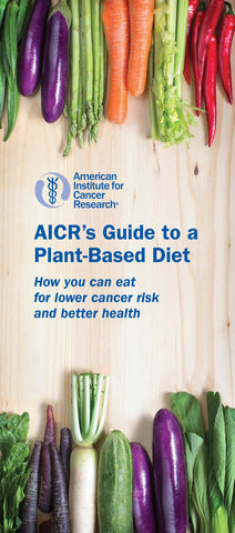 AICR's Guide to a Plant-Based Diet (Pack of 25)