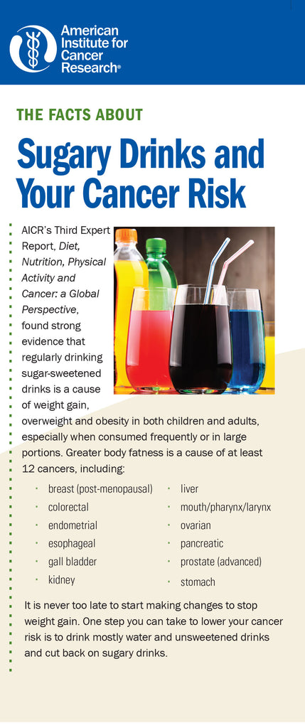 The Facts About Sugary Drinks