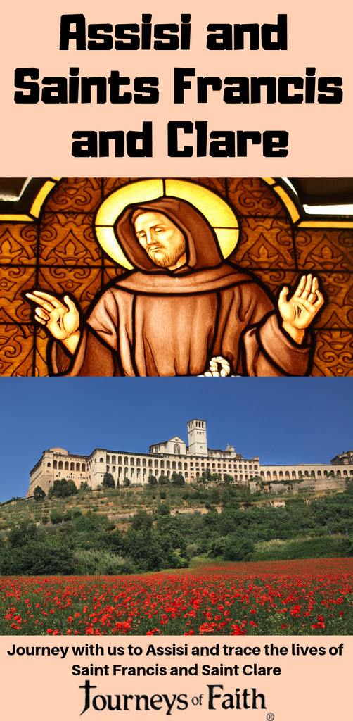 Assisi and Saints Francis and Clare