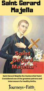Saint Gerard Majella and the Miracles of the Lost Key and Handkerchief