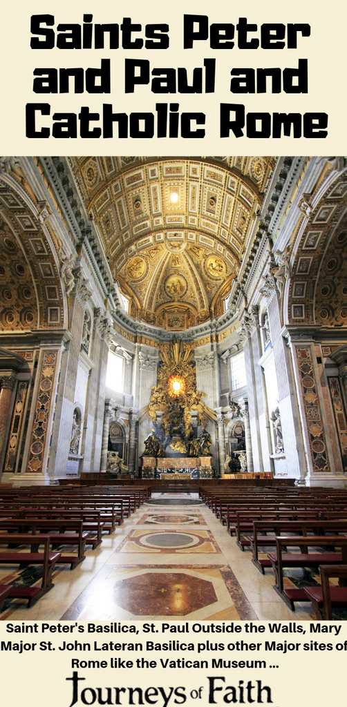 Saints Peter and Paul and Catholic Rome Sites