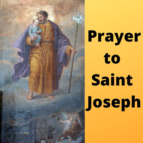 Prayer to Saint Joseph