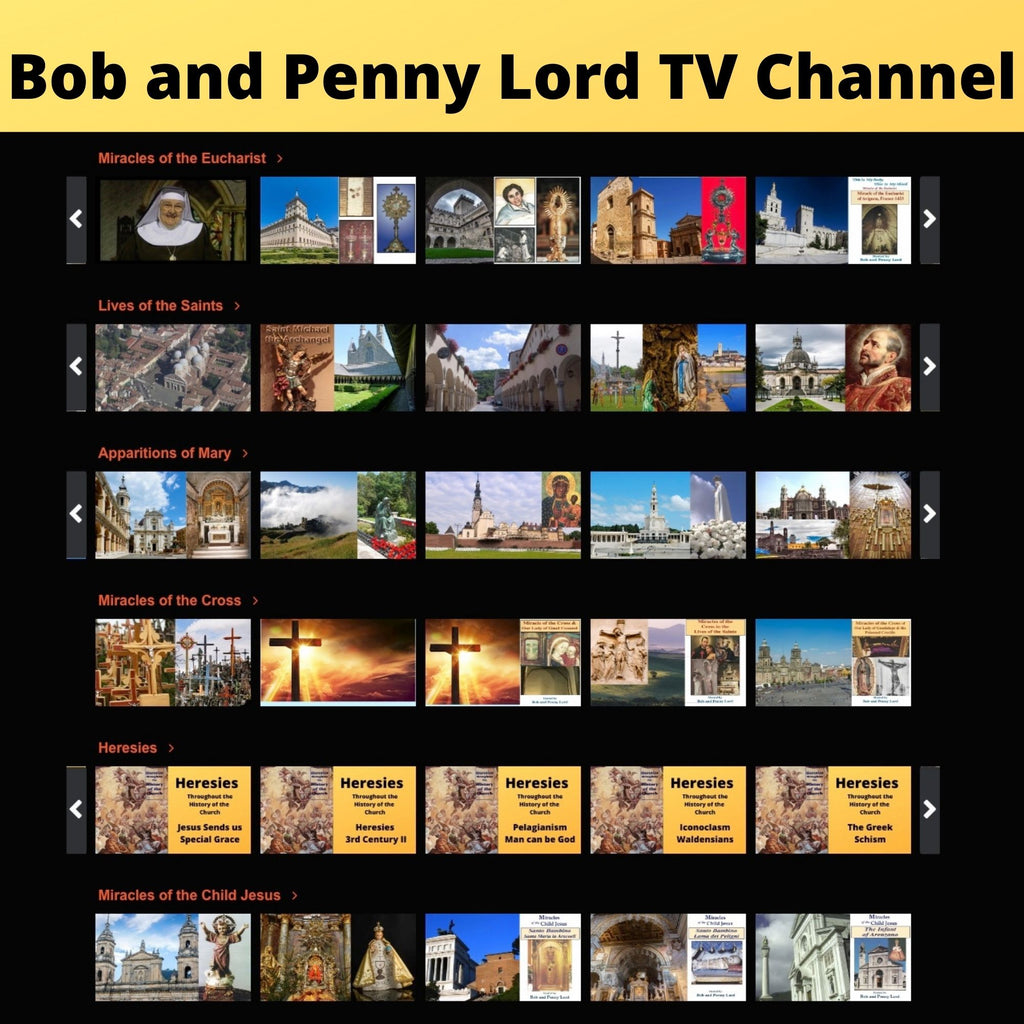 Bob and Penny Lord TV Channel is LIVE!
