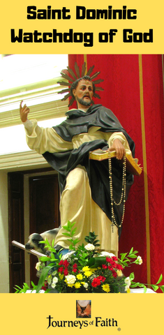 Saint Dominic Watchdog of God