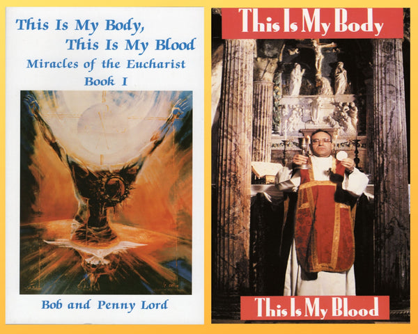 Miracles of the Eucharist Book plus DVD - Bob and Penny Lord