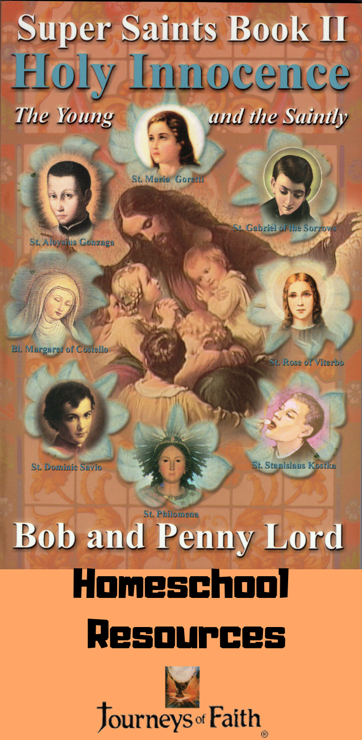 Holy Innocence - The Young and the Saintly book - Bob and Penny Lord