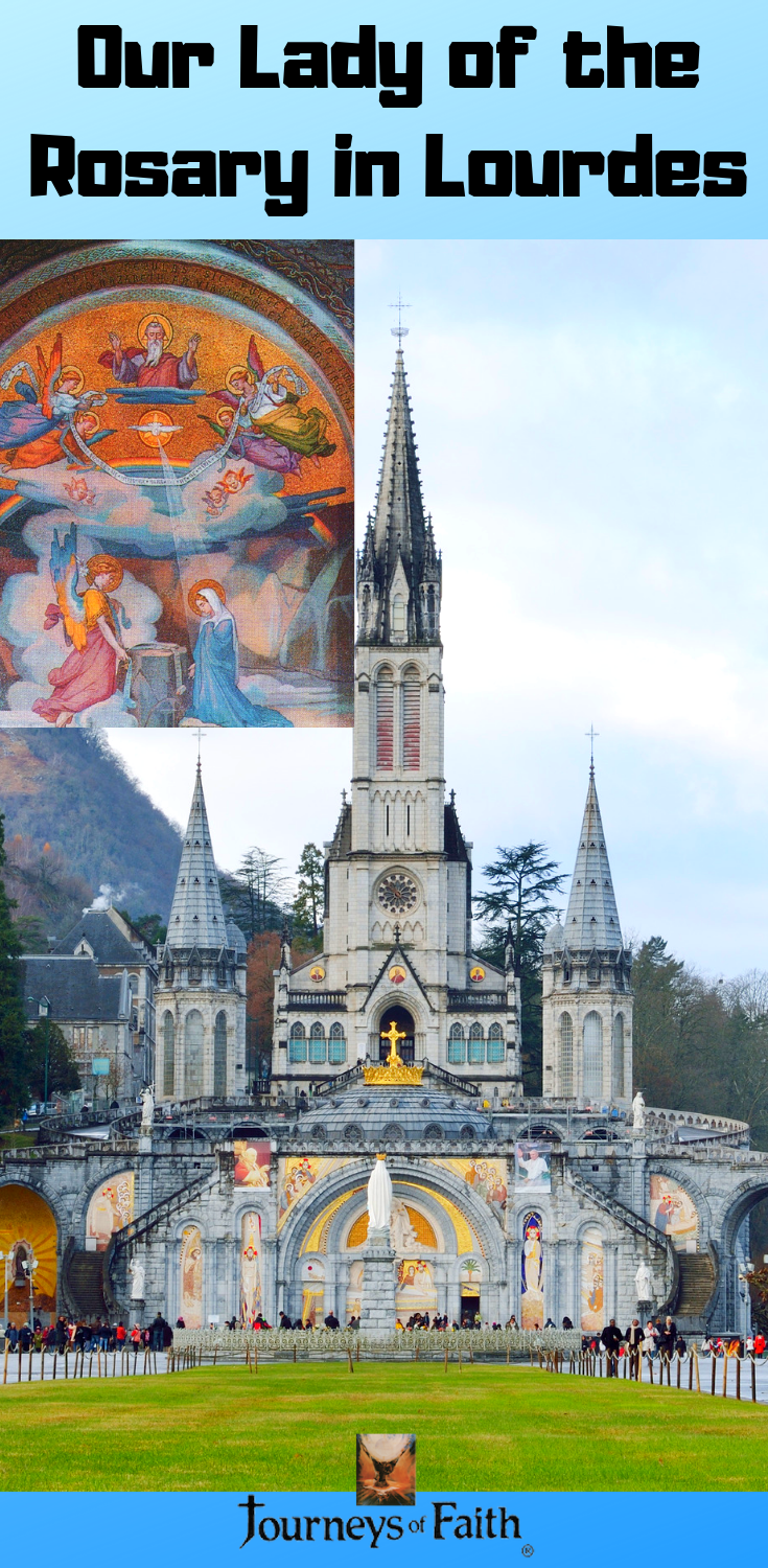 Our Lady of the Rosary in Lourdes - Bob and Penny Lord