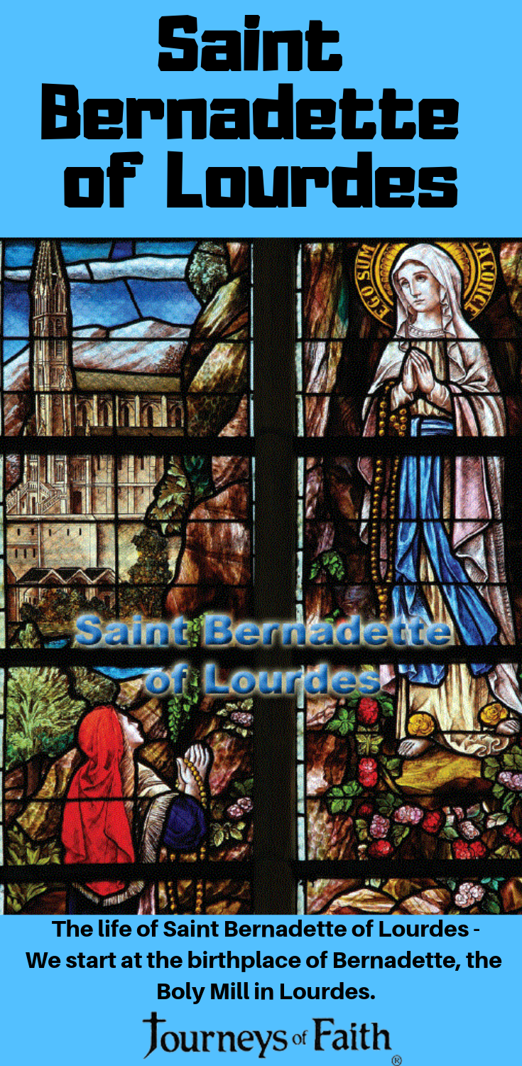 Saint Bernadette of Lourdes - Bob and Penny Lord