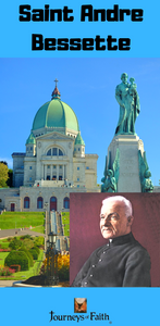 Saint Andre Bessette DVD - Bob and Penny Lord