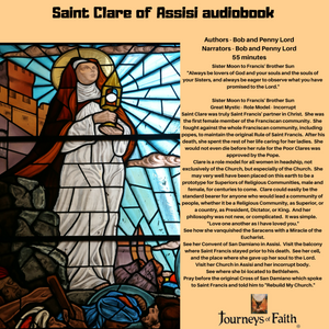 Saint Clare of Assisi Audiobook Audiobook Bob and Penny Lord Ministry