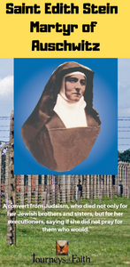 Saint Edith Stein - Martyr of Auschwitz DVD - Bob and Penny Lord