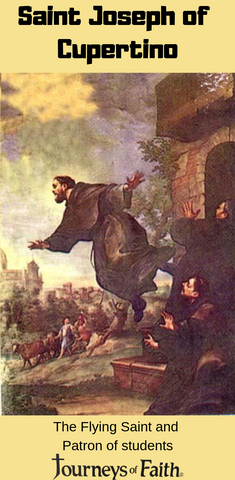 Saint Joseph of Cupertino - Bob and Penny Lord