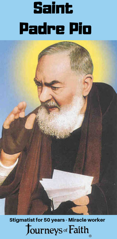 Saint Padre Pio - Bob and Penny Lord
